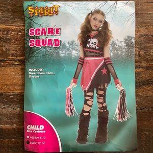 Girls scare squad costume